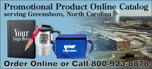 Promotional Products Greensboro, North Carolina